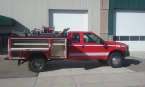 Ford Diesel Truck Fires - 2004 ford f 550 extended cab brush truck used truck details