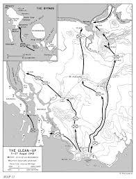 Georgia Map Usa Hyperwar Us Army In Wwii Cartwheel The Reduction Of Rabaul