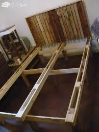 Slatted Bed Frames Slatted Bed Frames From Pallets 1001 Pallets