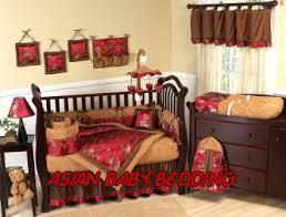 asian design nursery bedding