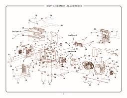 husky hu2250 repair parts