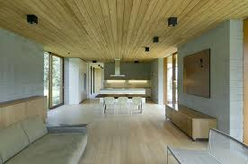 Plain Simple Modern House Interior With Natural Environment - Simple and modern interior design