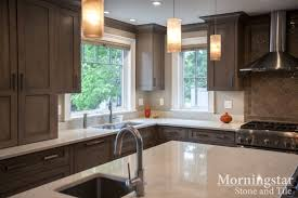 Kitchen Design Inspiration Hanstone Aspen Quartz countertops