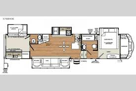 Forest River 5th Wheel Floor Plans New 2018 Forest River Rv Sandpiper 376bhok Fifth Wheel At Big
