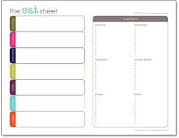 free menu planner template best 25 meal planning templates ideas