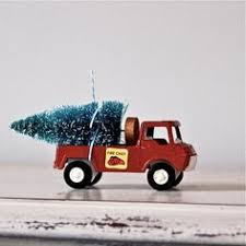 Fire Trucks Decorated For Christmas American Staffordshire Terrier Dog Surf Board Jeep Wooden