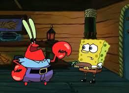 Spongebob Wallet Meme - mr krabs plan to let spongebob hold onto his wallet and to keep