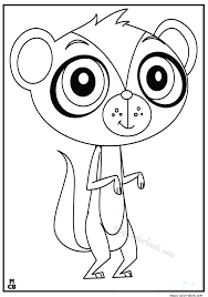 littlest petshop coloring pages free online 12