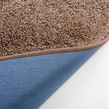 shag pile runner bali design beige custom size
