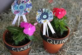 flower pot favors farm tastic birthday flower pot favors pretty prudent