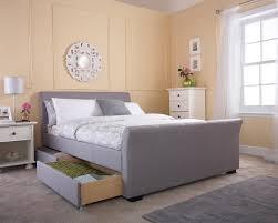 Milan Bed Frame Limelight Beds Hanover 4ft 6 Fabric Bedframe