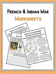 french u0026 indian war facts u0026 worksheets for kids seven years war