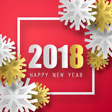 cards new year 2018 vector background happy new year greeting card christmas