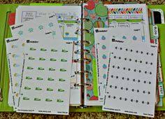 how to make your own planner stickers use avery labels and their