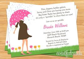 what is a sprinkle shower baby sprinkle shower invitation for girl also available in