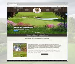 golf course website design websites marketing email home