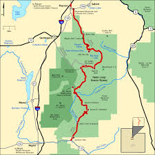 americas byways nebo loop scenic byway map america s byways