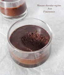 cuisine pour regime mousse au chocolat régime aux fourneaux