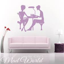online get cheap nails and beauty salon window stickers mad world nail salon manicure beauty wall art stickers decal home diy decoration
