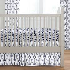 Deer Crib Sheets Navy Arrow Crib Bedding Carousel Designs