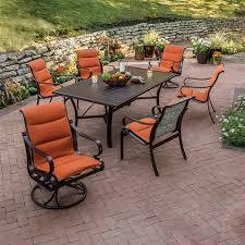 Tropitone Patio Table Torino Padded Sling Sling Patio Furniture Tropitone