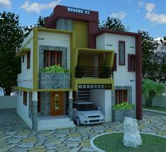 Architecture Kerala Contemporary Elevation And House Plan Low House Plans 800sqf