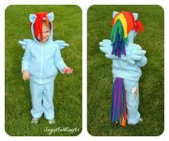 Pony Rainbow Dash Halloween Costume 62 Rainbow Dash Pony Costume Images