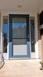 preferred window and door front entry door u0026 storm door storm