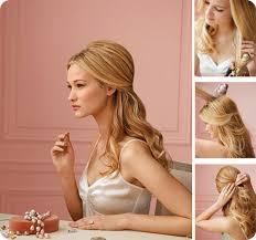 Hochsteckfrisurenen Lange Haare Halb Offen by Die Besten 25 Halbe Hochsteckfrisuren Ideen Auf