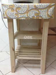 bekvam ikea bekväm kitchen trolley birch wood qatar living