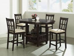 tall table with storage tall dining room sets enchanting bar height square table luxury