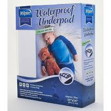 Waterproof Pads For Beds Extra Absorbent Under Pad Machine Washable Waterproof Bed