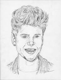 how to draw justin bieber let u0027s draw people