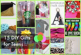 diy gifts for teens a little craft in your day
