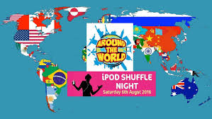 ipod shuffle around the world theme waverley blues