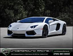 all white lamborghini aventador lp1200 4 turbo by racing lp1200 tt 01