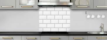 credence cuisine metro crédence de cuisine carrelage métro blanc c macredence com