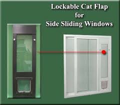 Cat Flap Patio Door Ideal Lcf For Side Sliding Window Inserts