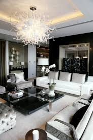 black livingroom furniture elegance in black white silver hoppen interiors