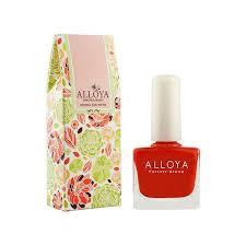 alloya all natural nail polish non toxic nail polish alloya all