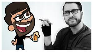 drawing myself in 5 animated styles youtube