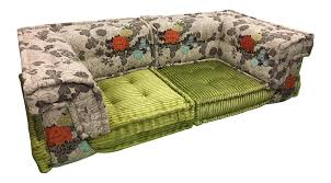 kenzo for roche bobois couch pieces a pair chairish