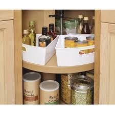 Lazy Susan Under Cabinet Interdesign Lazy Susan Kitchen Cabinet Organizer Storage Binz 1 6