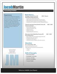 Example Of Modern Resume by 4 Best Images Of Modern Resume Template Microsoft Word Free
