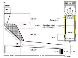 skee ball table plans image result for skee ball machine dimensions pinteres