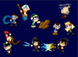 chibi avatar airbender legendaryfrog deviantart