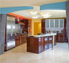 Kitchen Color Combinations Ideas Yellow Orange And Blue Kitchen Color Schemes Homeportfolio