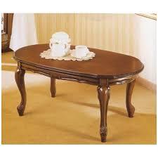 tavolo ovale legno tavolo da salotto classico in legno ovale ilbottegone biz