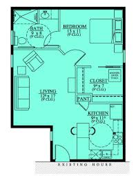 apartments single story house plans with inlaw suite handicap