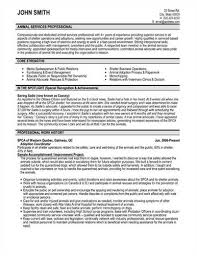 Veterinarian Resume Examples Animal Care Technician Resume